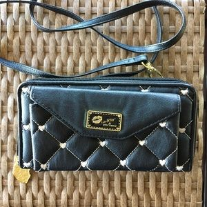Luv Betsey by Betsey Johnson Wallet - Black- NWOT